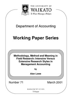 research paper management