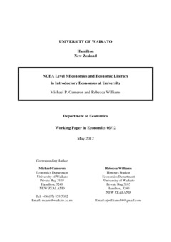 what is economic literacy